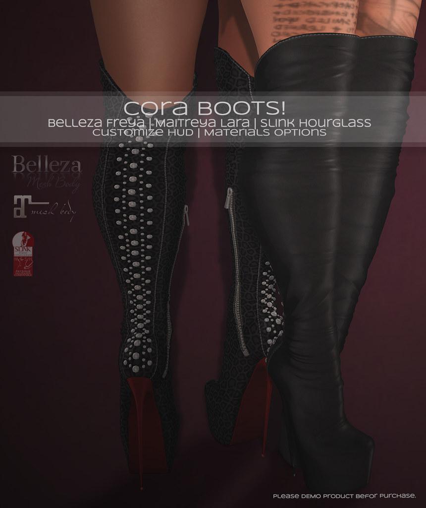 🎀 Cora Boots! 🎀 - TeleportHub.com Live!