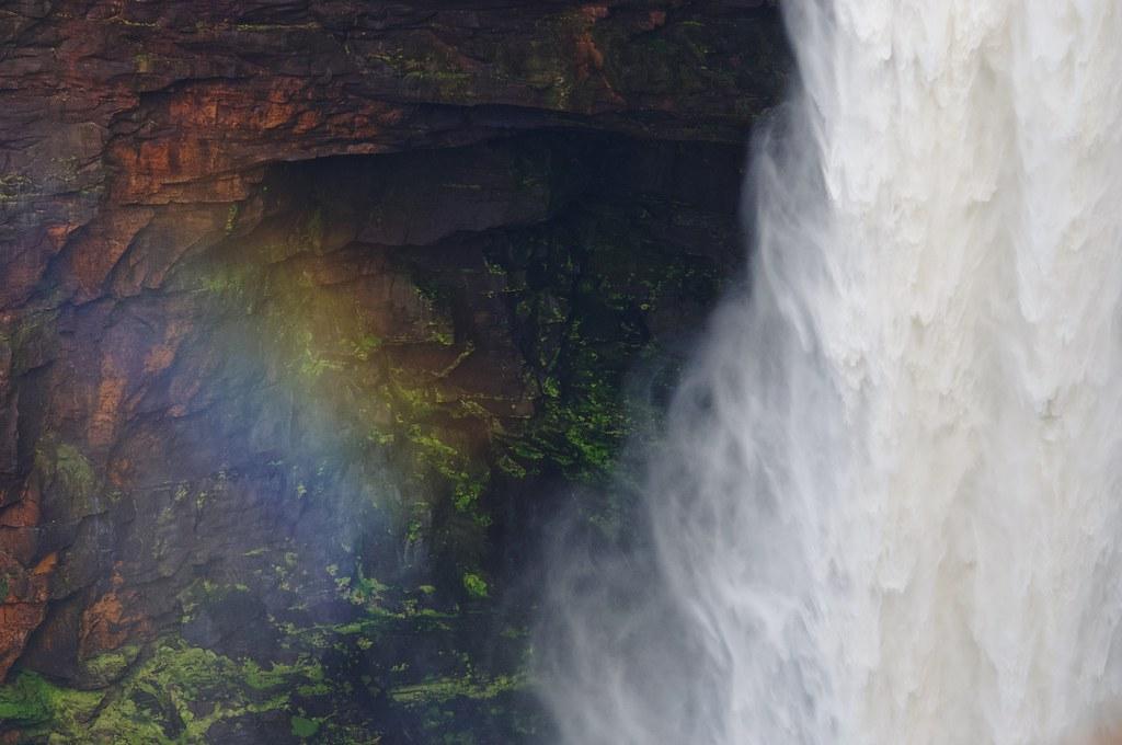 Kaieteur Falls - Rainbow
