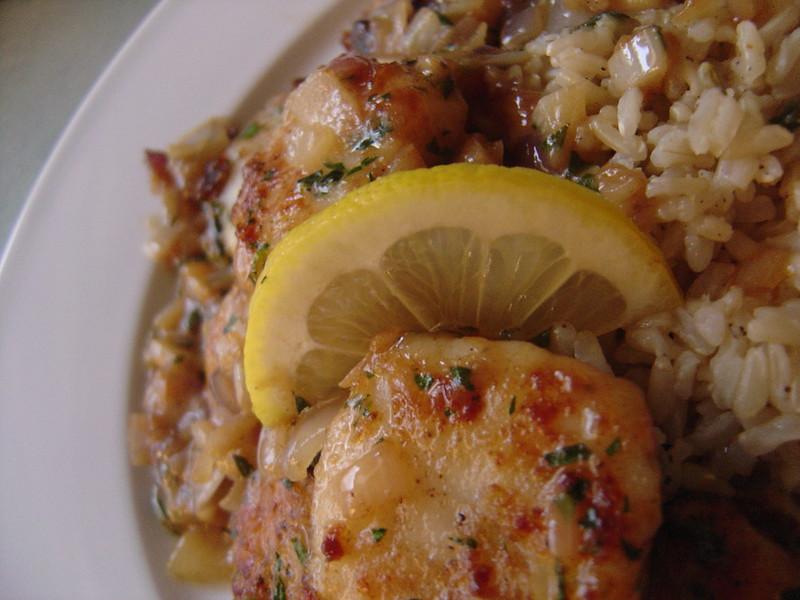 scallops provencal