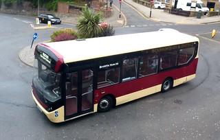 BU16 OYF 'East Yorkshire Motor Services' No. 393. Volvo B8RLE / MCV Evolution on Dennis Basford's railsroadsrunways.blogspot.co.uk'