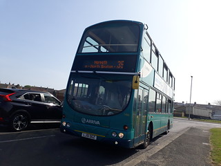 Arriva north east 7486