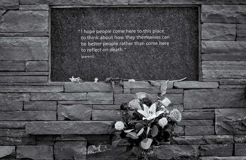 Columbine Memorial. 4-20-2019