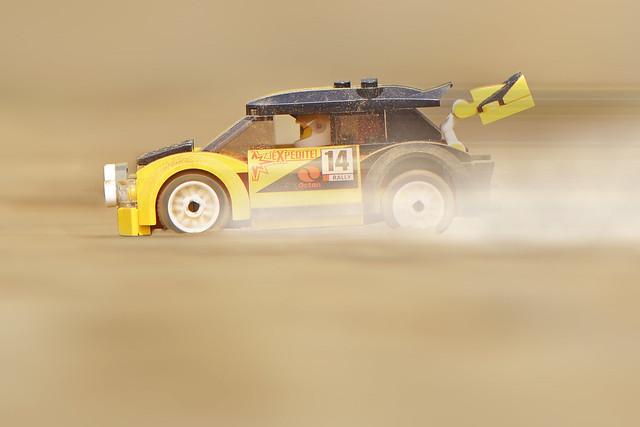 LEGO City Rally Car