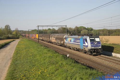 186 297 RTB Cargo . E 42541 . 's Herenelderen , Tongeren . 20.04.19.