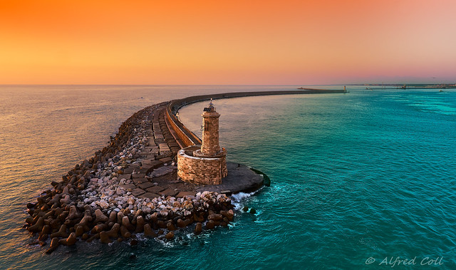 Light House at Livorno