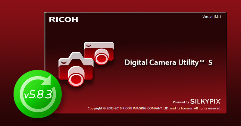 Digital Camera Utility 5 update v5.8.3