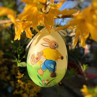 Hier ein Ei für alle, die sonst keine gefunden haben 😜. Frohe Ostern! 🐣🐰 #froheostern #ostern2019 #eiersuchen #eierschaukeln #hasihase #wersuchtderfindet #augenaufimverkehr #undsonstambestenauch