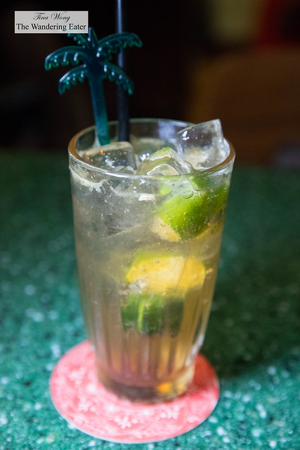 Calamansi and sourplum soda