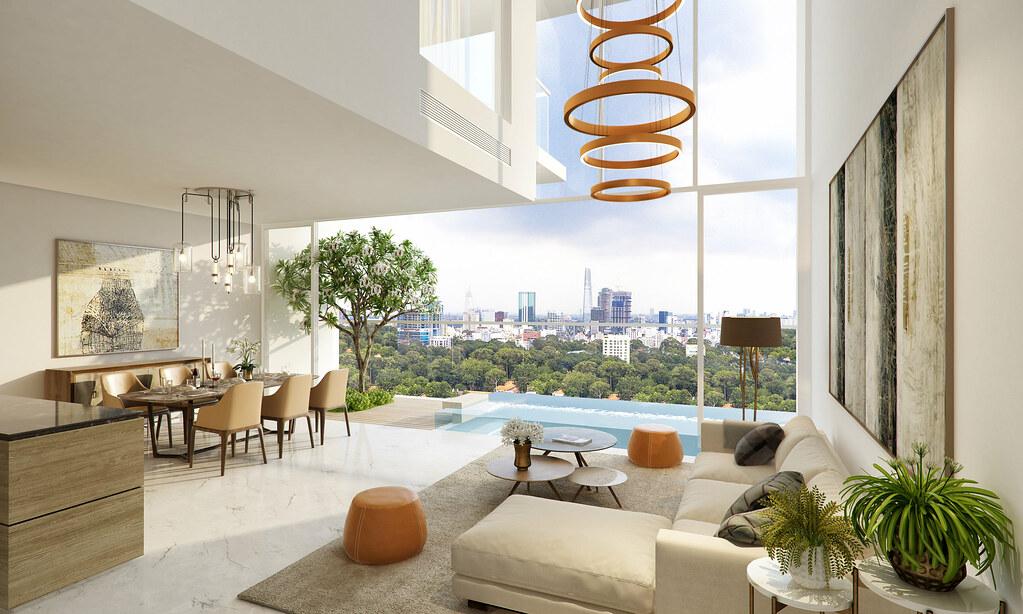 Tổng quan dự án Serenity Sky Villas