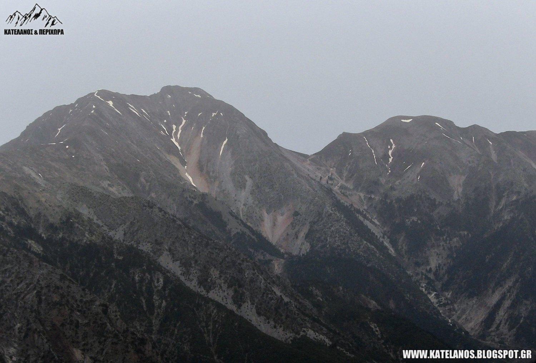 καλιακουδα βουνο ανοιξη χιονουρες