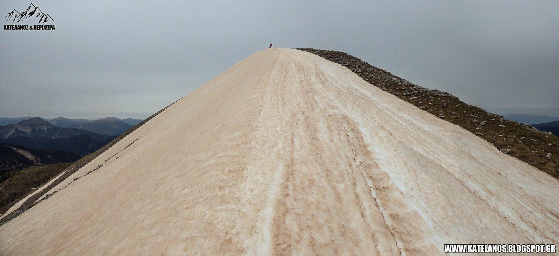 χιονουρες βουνο ανοιξη πεζοπορια ορειβασια