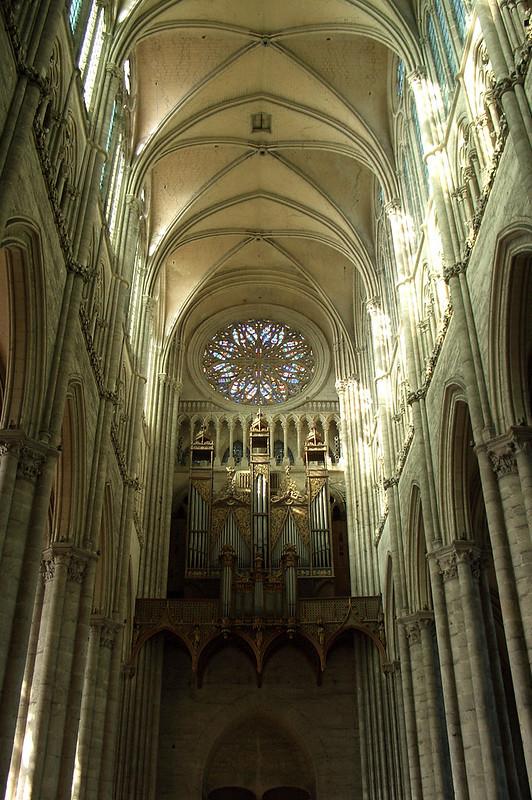 Орган Амьенского собора, Амьен, Франция