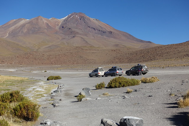Bolivia - Vulcano National Parc Laguna Canapa
