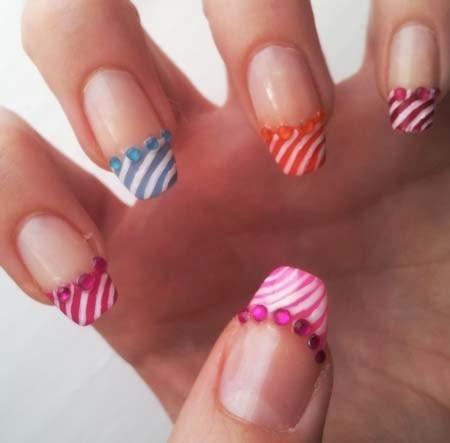 French Nail Art Design