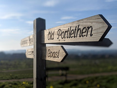Old Portlethen Coast Signs