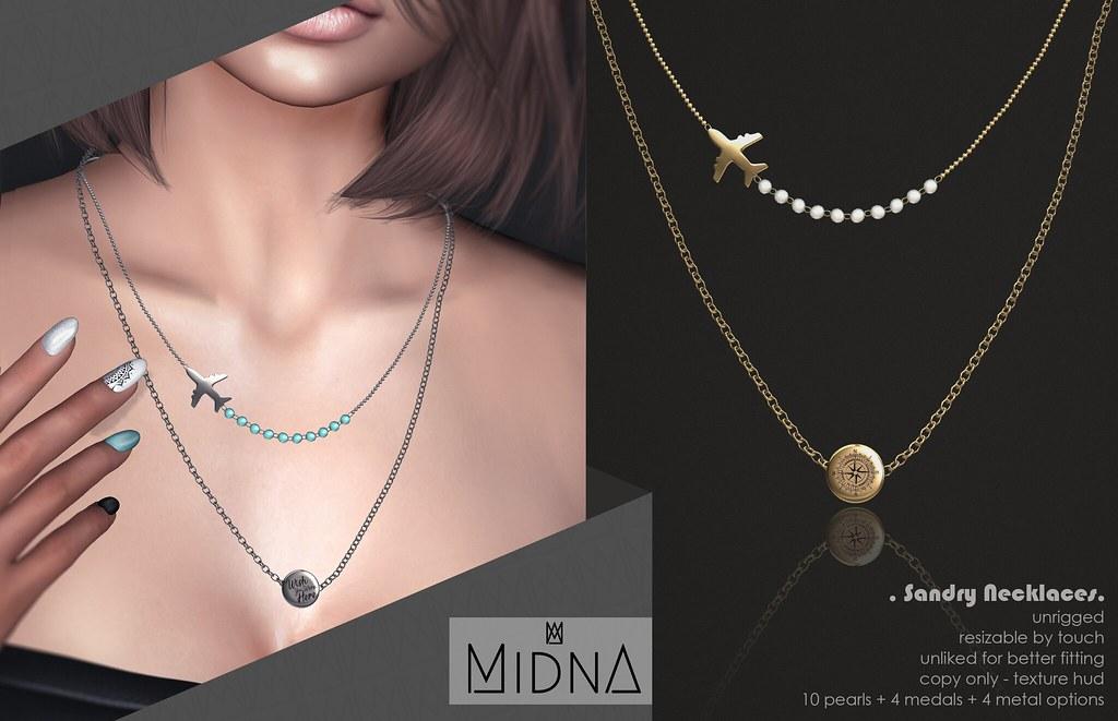 Midna – Sandry Necklaces