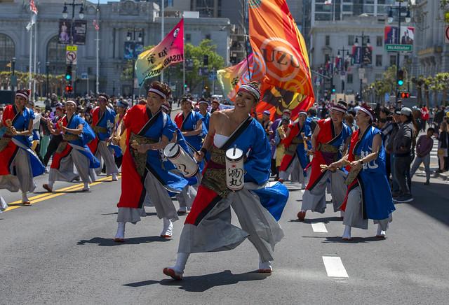 Japanese Yosakoi Dancers