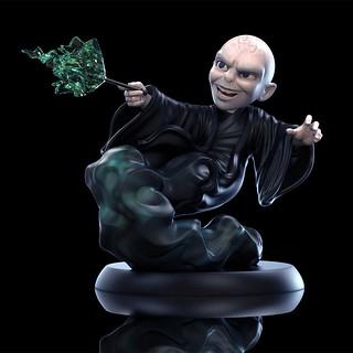 阿哇呾喀呾啦! Quantum Mechanix Q-Fig 系列《哈利波特》佛地魔 Voldemort Q-Fig