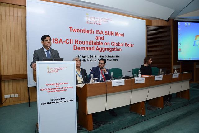 20th ISA Sun Meet held on 18th April, 2019 at India Habitat Centre, Lodhi Road, New Delhi.