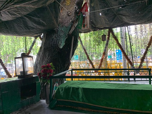 City Faith - Hazrat Qutub Shah Chishti's Sufi Shrine, Outside the Election Commission of India Headquarters