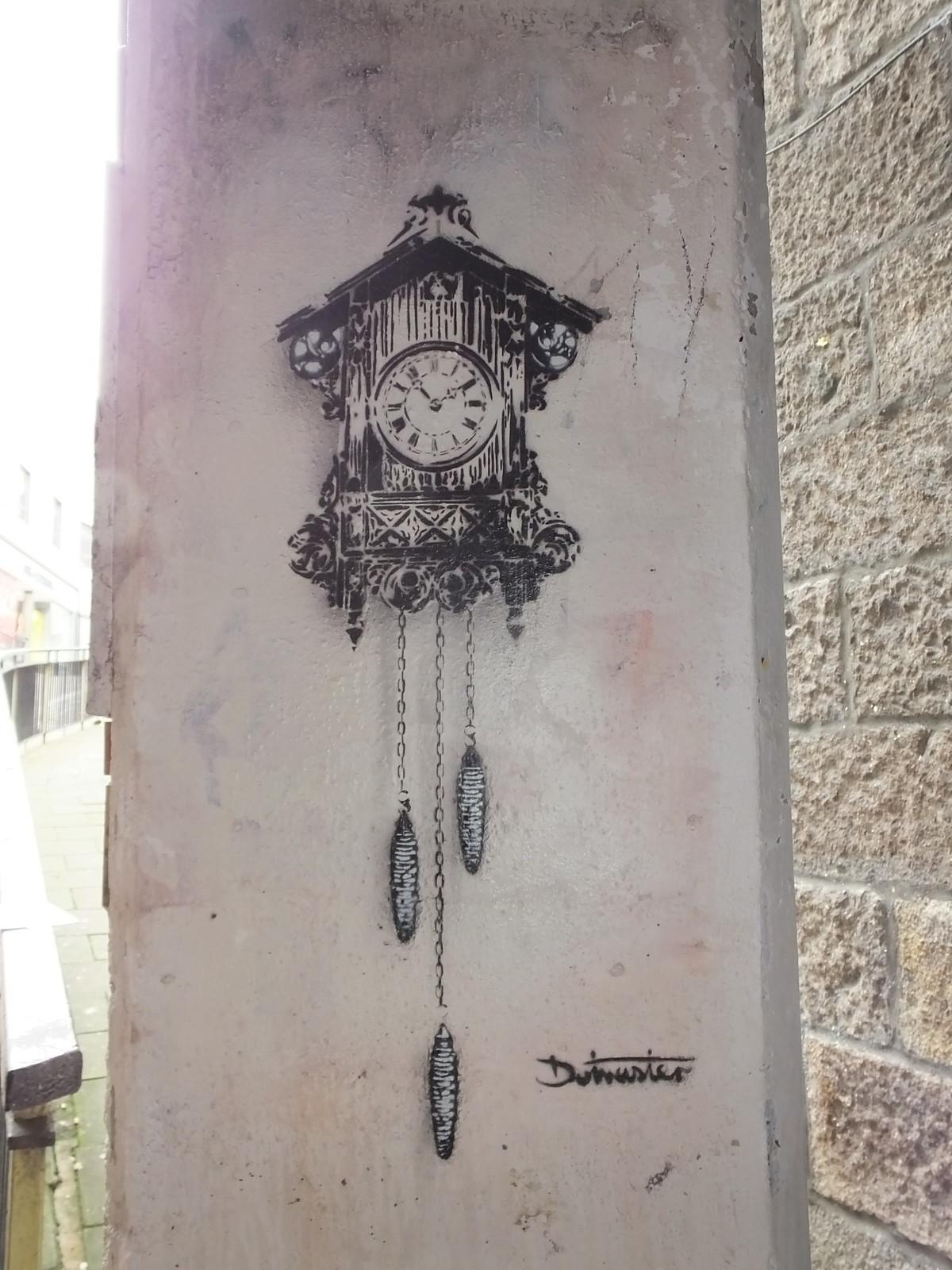 Nuart Aberdeen 2019: Stencils and pasteups