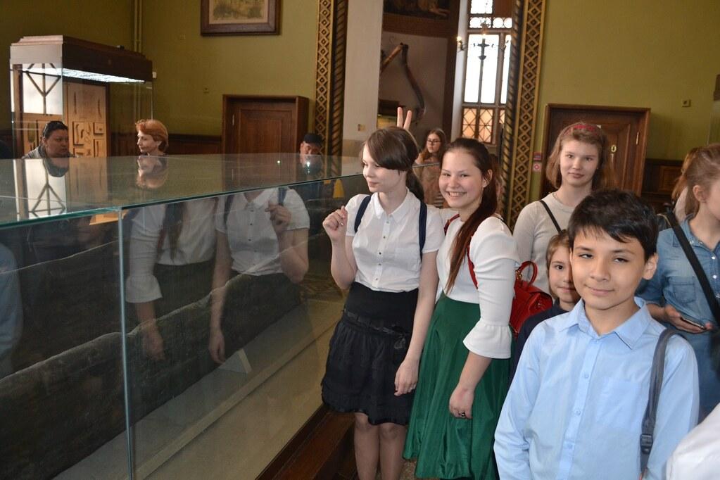 Учащиеся 5-9 классов Православной школы «Люблино» посетили Государственный исторический музей