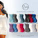 Neve - Diamond Dress - All Colors