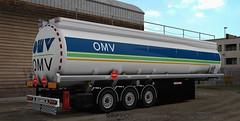 Schwarzmüller tanker - OMV [ETS2]