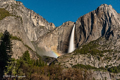 Upper Yosemite Fall Moonbow