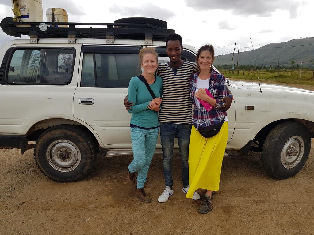 Nasz super kierowca w Dolinie Omo, Etiopia
