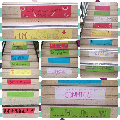 Escalera de Versos
