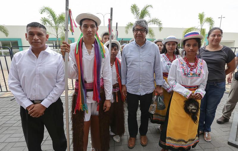 Inauguración Clases UE Intercultural Rumiñahui - Guayaquil