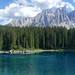 Lago di Carezza e Gruppo Latemar