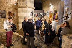 Exhibition opening in Castello San Giorgio, Lerici