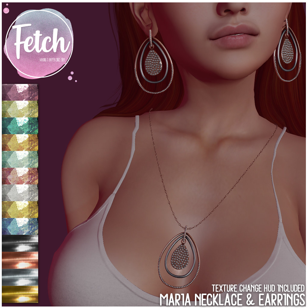 [Fetch] Maria Necklace & Earrings @ N21! - TeleportHub.com Live!