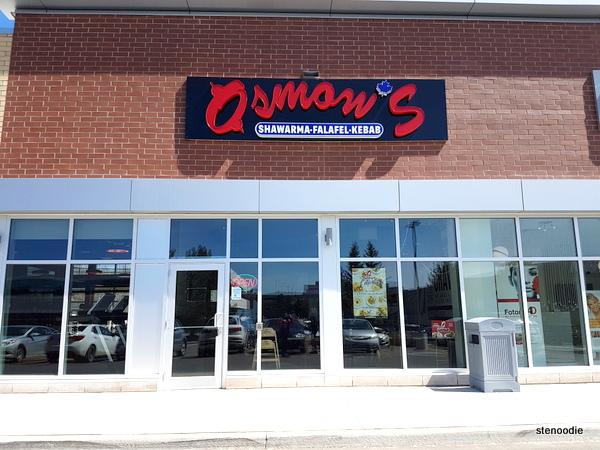 Osmow's Mediterranean Markham storefront