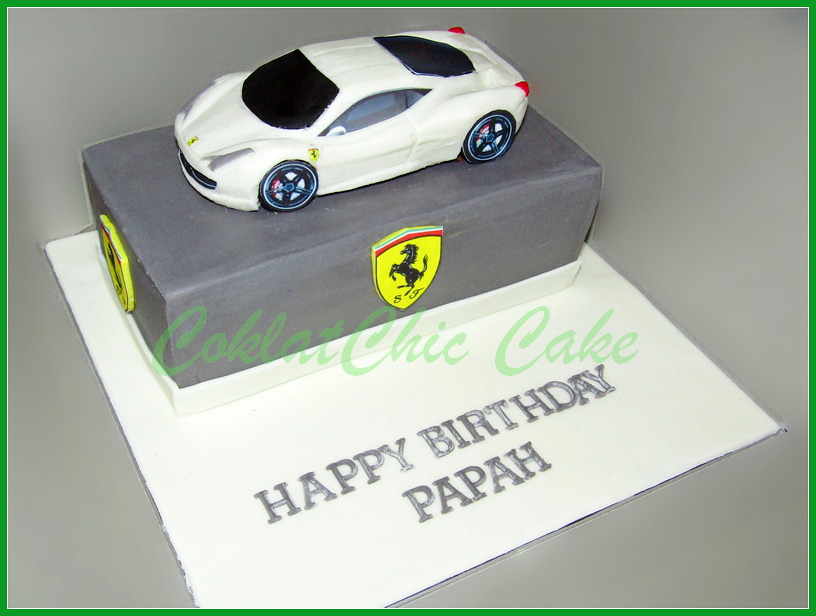 Cake Ferrari PAPAH 18 cm