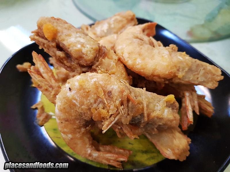 restoran 9888 cheras salted egg prawns
