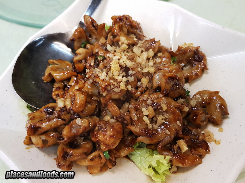 restoran 9888 cheras fried intestines