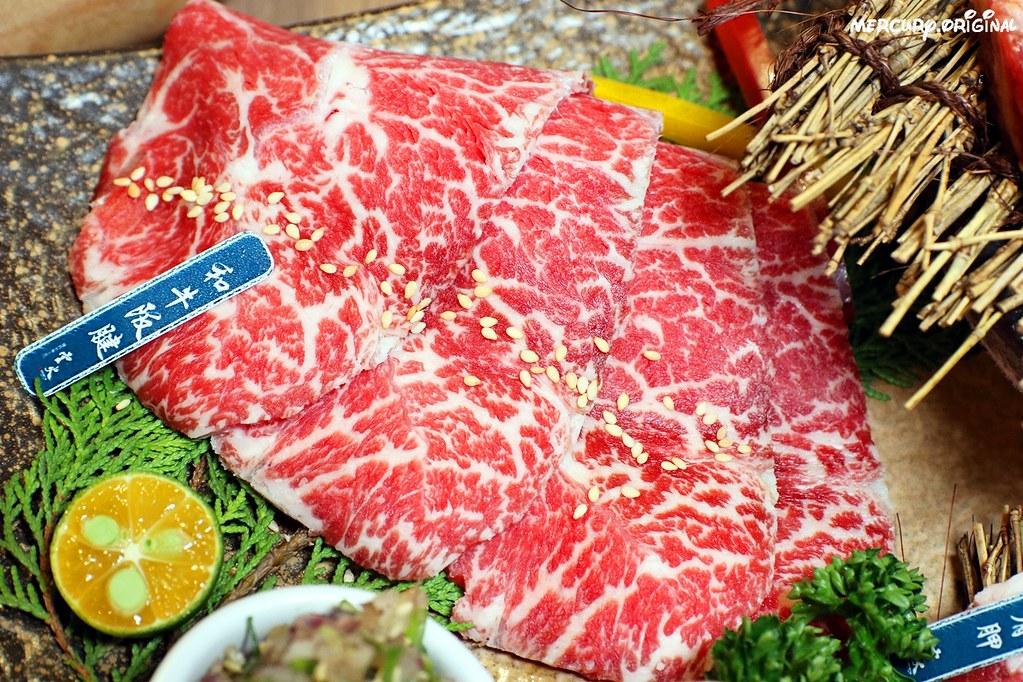 33796223418 499f56a9bf b - 熱血採訪 雲火日式燒肉,一次吃齊和牛肋眼、嫩肩、板腱、牛舌六種部位,當月壽星優惠送甜點