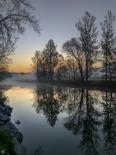 Reflections of Easter dawn