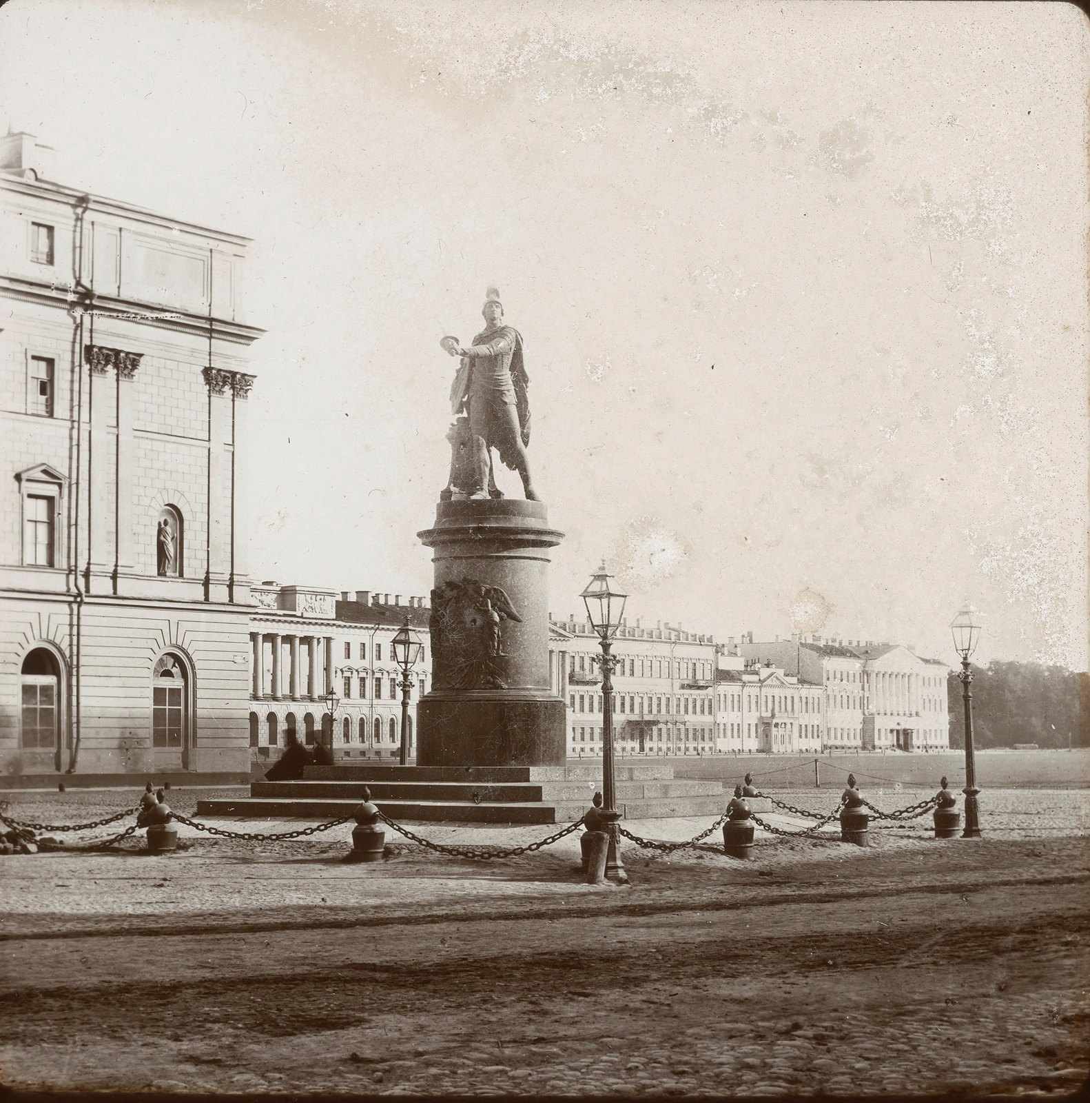 Санкт-Петербург. Памятник Александра Суворова