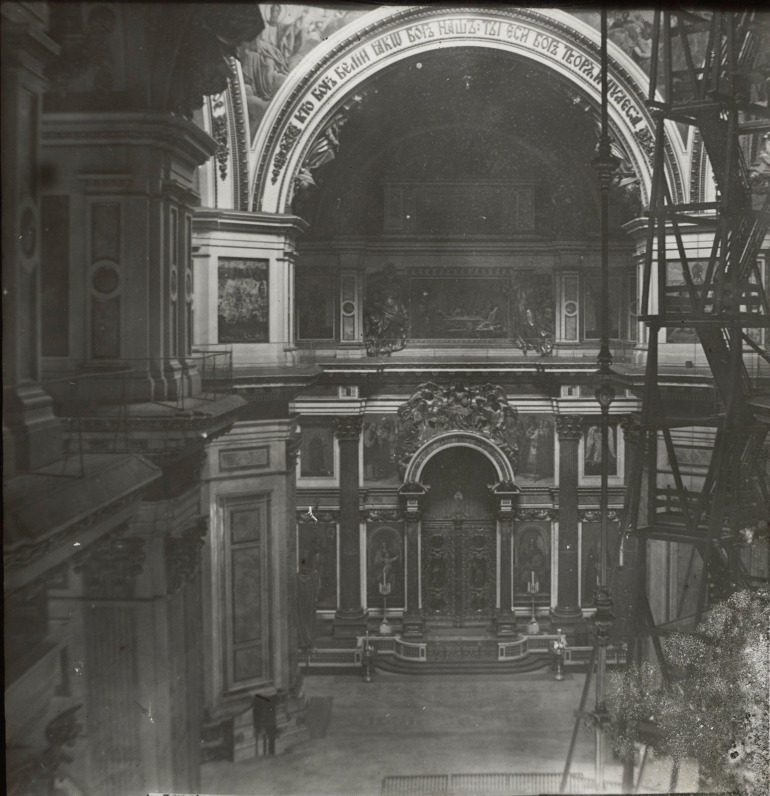 Санкт-Петербург. Интерьер Исаакиевского собора