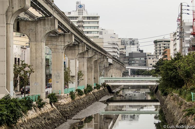 Recorrido del Yui Rail en Naha