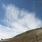 Cloud formation above Table Mountain Trail