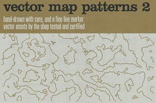 Hand-drawn vector maps volume 2