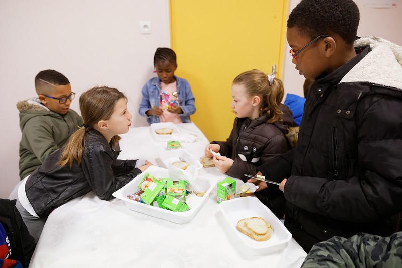 Stratégie de prévention et lutte contre la pauvreté: petits déjeuners dans les territoires prioritaires