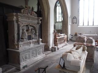 St. Mary's Priory Church Interior, Abergavenny SWC Walk 334 - Sugar Loaf (Abergavenny Circular)
