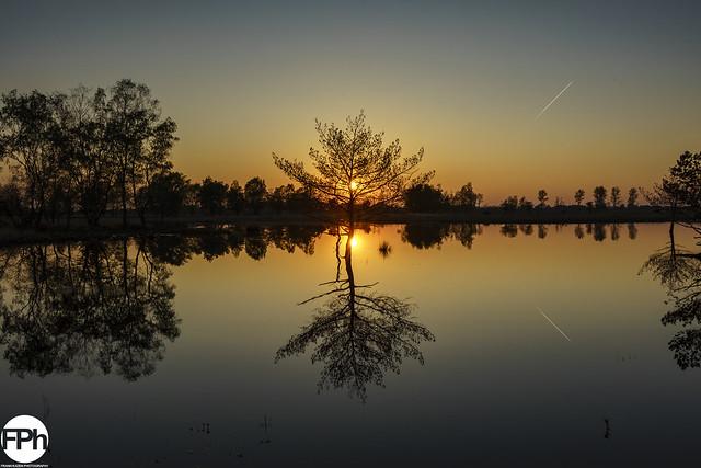 Sunset at Loozerheide