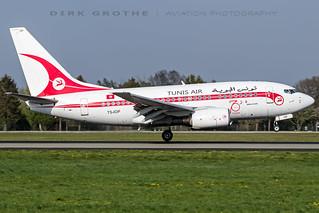 TunisAir_B736_TS-IOP_20190423_HAM-2 | by Dirk Grothe | Aviation Photography